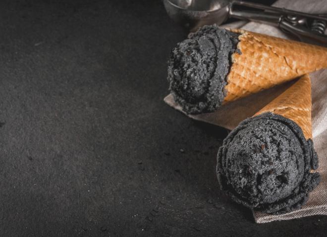 Как приготовить чёрное мороженое - пошаговый рецепт и фото 2