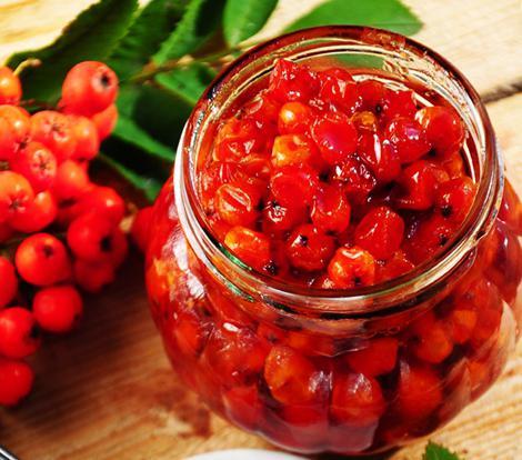 Как сделать варенье из красной рябины - вкусные рецепты, приготовление 1
