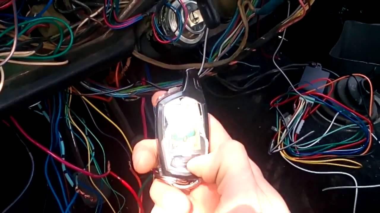 Как снять блокировку стартера сигнализацией своими руками - инструкция 1