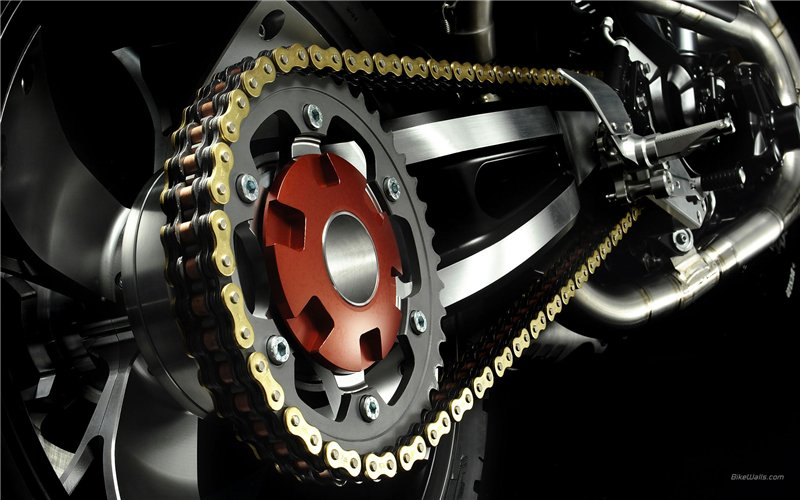 Как часто и чем смазывать мотоциклетную цепь - советы и помощь 1