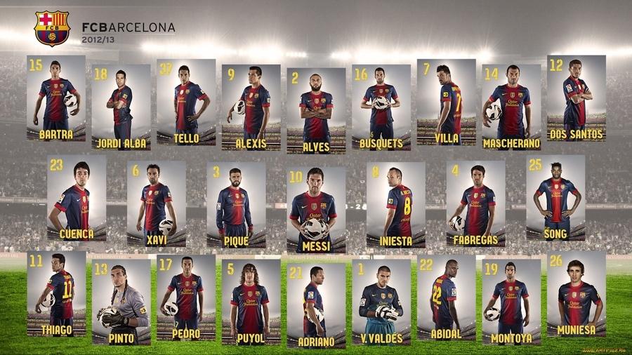 Картинки Барселоны футбола - самые прикольные и красивые 11