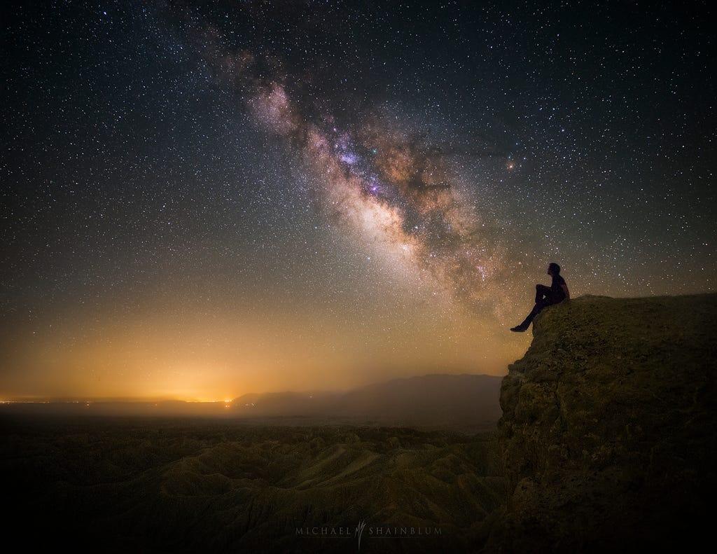 Классные картинки на аву звездное небо, яркие звезды - подборка 14