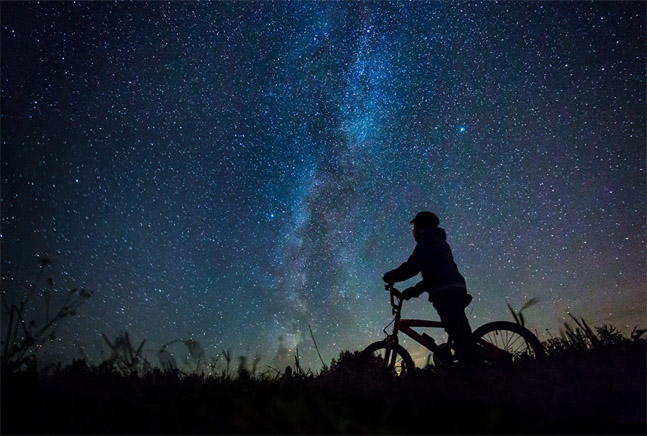 Классные картинки на аву звездное небо, яркие звезды - подборка 4