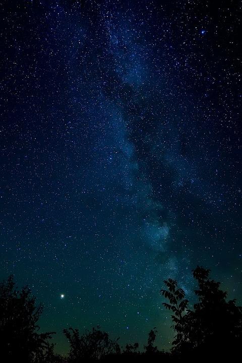 Классные картинки на аву звездное небо, яркие звезды - подборка 8