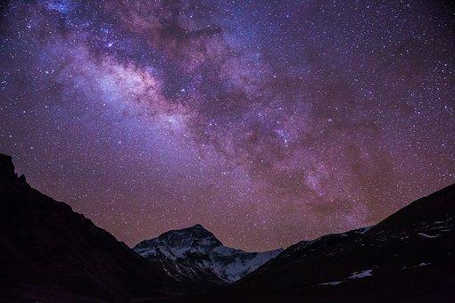 Классные картинки на аву звездное небо, яркие звезды - подборка 9