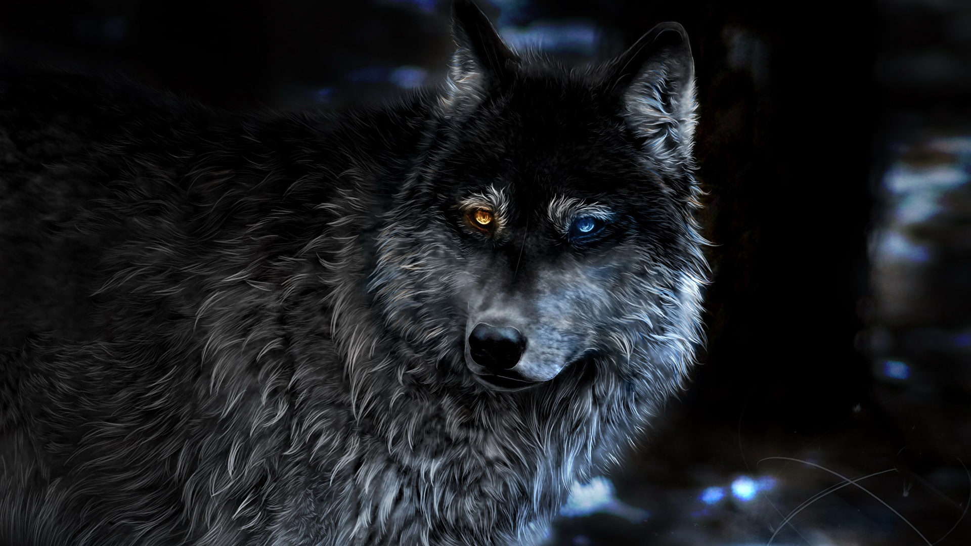 Классные картинки на рабочий стол волки, волчица, волк - подборка 9