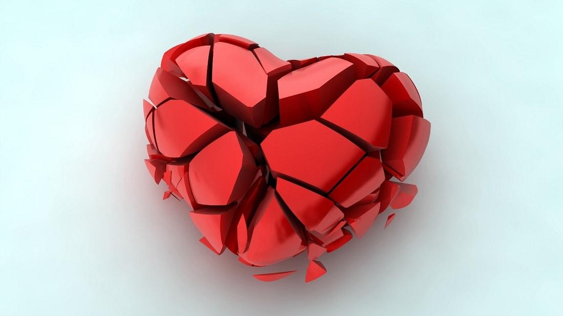 Красивые и интересные картинки со смыслом про разбитое сердце 11
