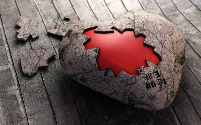 Красивые и интересные картинки со смыслом про разбитое сердце 13