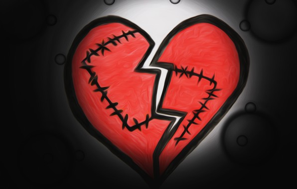 Красивые и интересные картинки со смыслом про разбитое сердце 8