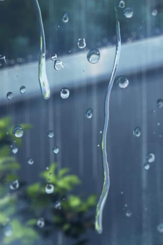 Красивые и необычные картинки на телефон Дождь - подборка 11