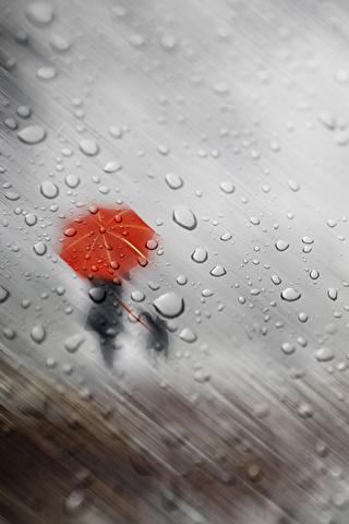 Красивые и необычные картинки на телефон Дождь - подборка 8