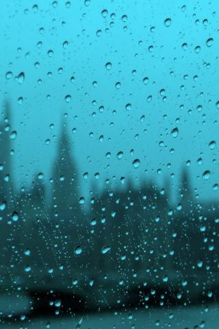 Красивые и необычные картинки на телефон Дождь - подборка 9