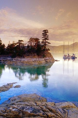 Красивые и необычные картинки пейзажи для заставки телефона 13