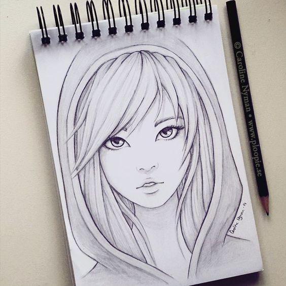 Красивые и прикольные зарисовки в личный дневник - подборка рисунков 1
