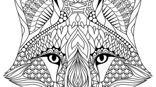 Красивые и прикольные картинки для срисовки Антистресс - сборка 18