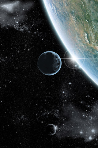 Красивые картинки космоса для заставки телефона - подборка 2018 12