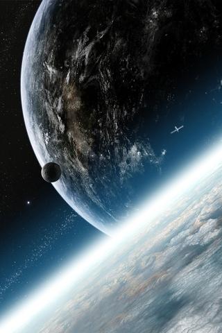 Красивые картинки космоса для заставки телефона - подборка 2018 8
