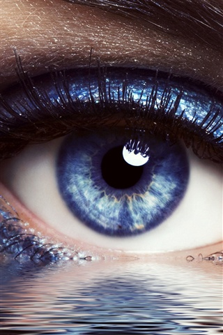 Красивые картинки на телефон глаза, глаза вблизи - подборка 2018 9