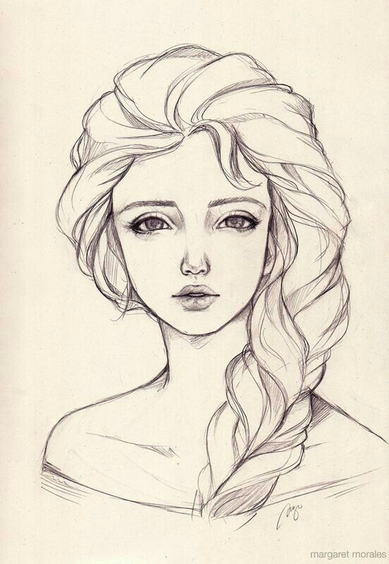 Лучшие легкие и необычные картинки срисовки для девочек - сборка 8