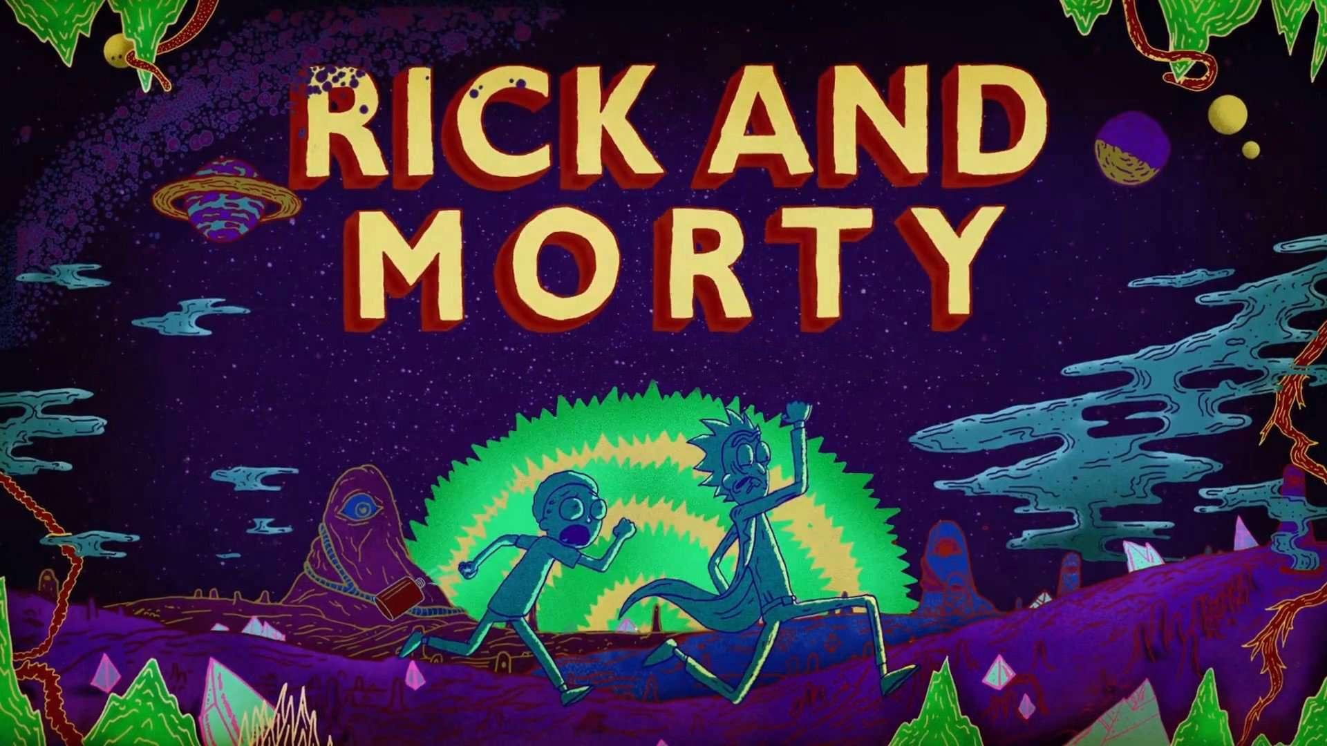 Отличные картинки на рабочий стол в хорошем качестве Рик и Морти 2