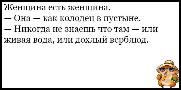 Подборка угарных и смешных анекдотов за август 2018 - подборка №119 13