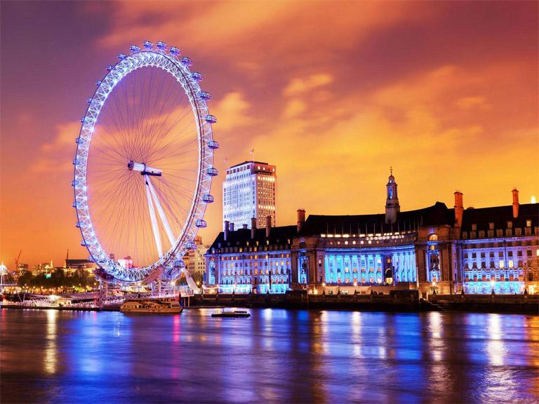 Топ-10 интересных фактов о Лондонском глазе (London Eye) 1