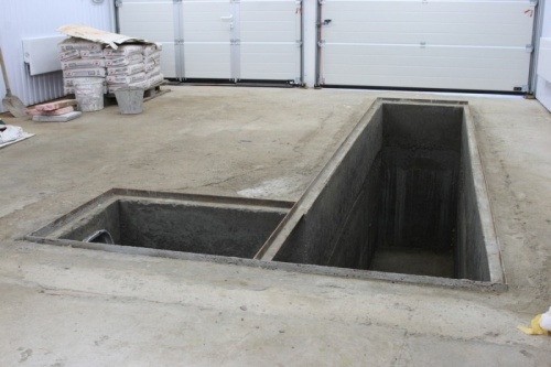 Устройство смотровой ямы в гараже своими руками - начало работ 4