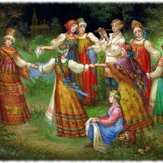 Виды и жанры народных песен. Смысл русских народных песен 1