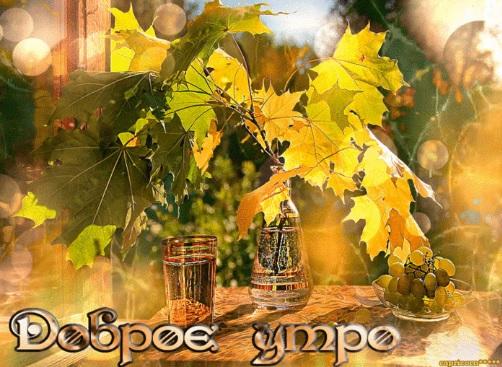 Доброе сентябрьское утро! - красивые картинки и открытки 2