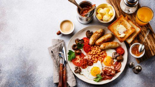 Завтрак очень красивые и аппетитные картинки, фотографии - сборка 17