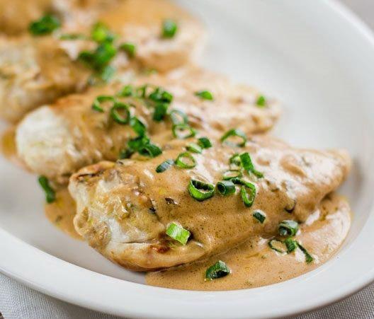Как приготовить курицу в луковом соусе - пошаговый рецепт 1