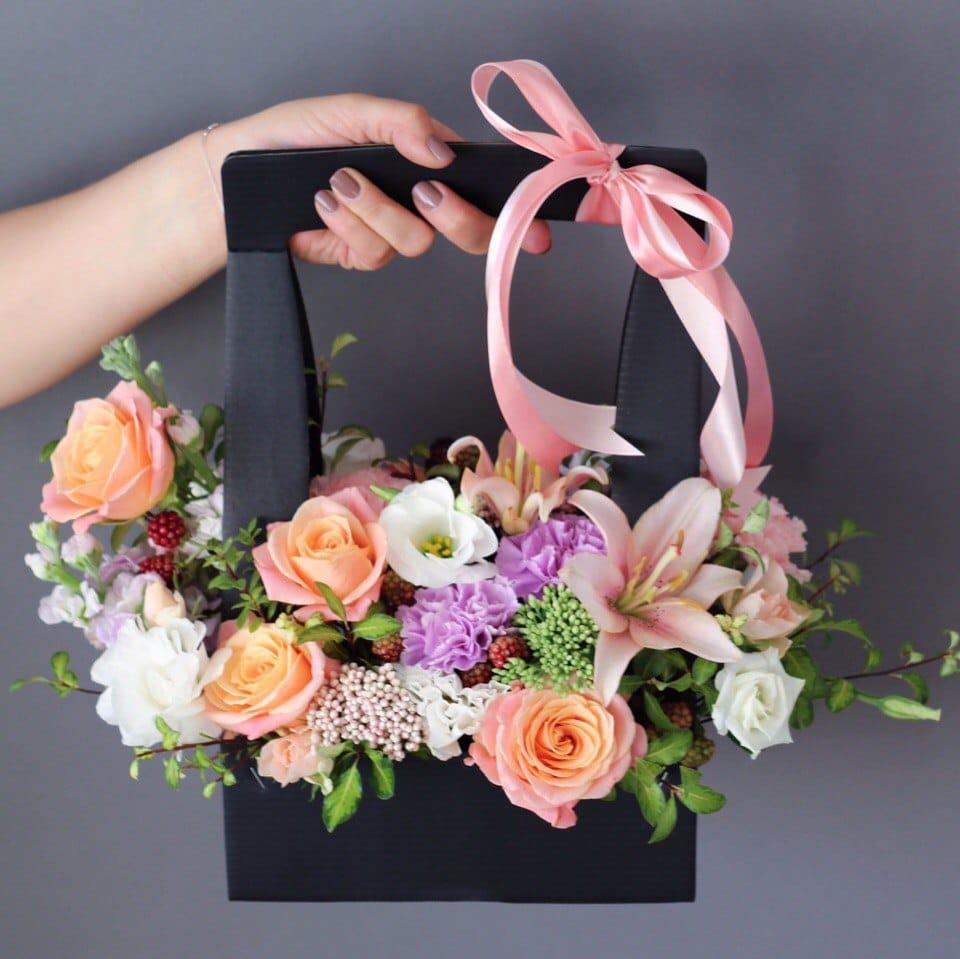 Как собрать цветочную композицию - оформление, интересное 3