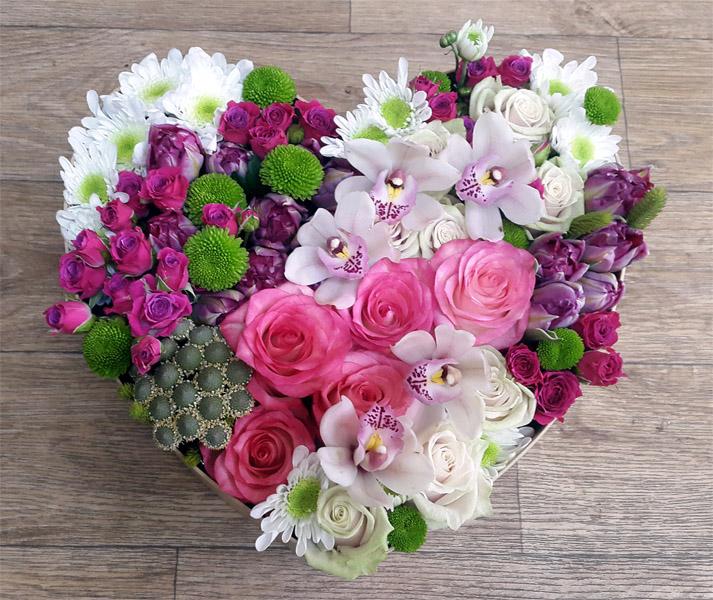 Как собрать цветочную композицию - оформление, интересное 4