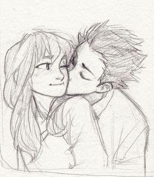 Красивые и интересные картинки для срисовки пары, влюбленные пары 9