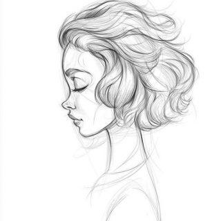 Красивые и милые картинки для срисовки - простая подборка 13