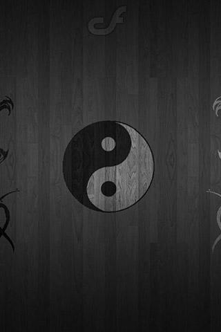 Красивые и необычные картинки на телефон Инь Янь - подборка 13