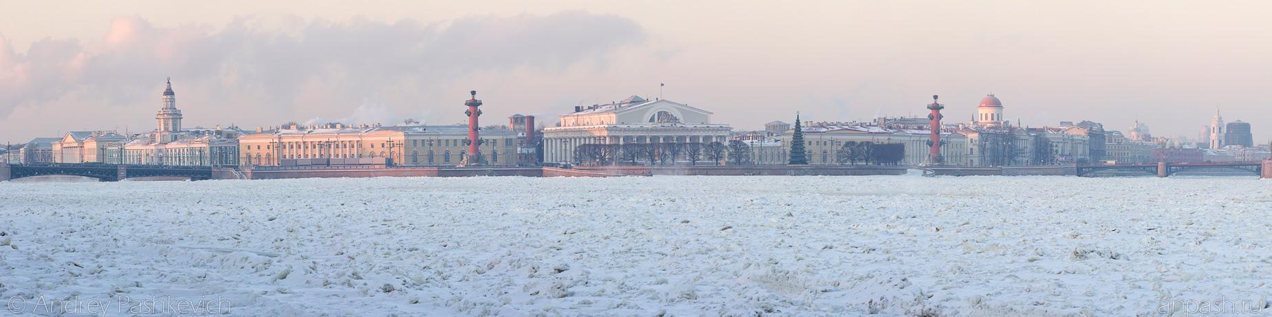 Красивые и необычные панорамные фотографии Санкт-Петербурга 1