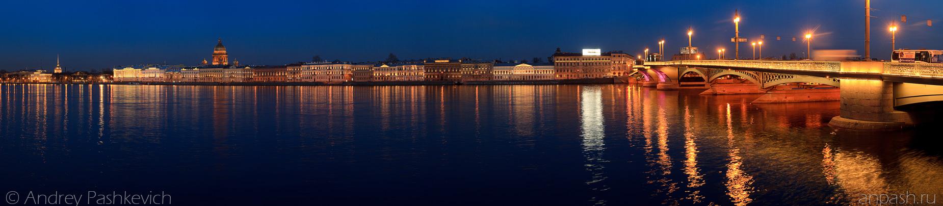 Красивые и необычные панорамные фотографии Санкт-Петербурга 4