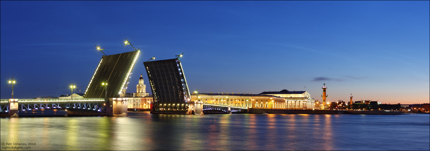 Красивые и необычные панорамные фотографии Санкт-Петербурга 7