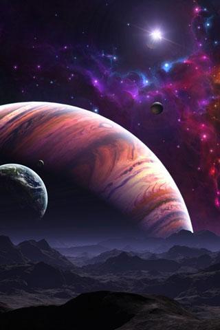 Красивые и прикольные картинки на телефон ночное небо - сборка 1
