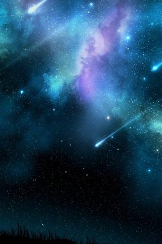 Красивые и прикольные картинки на телефон ночное небо - сборка 12