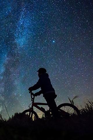 Красивые и прикольные картинки на телефон ночное небо - сборка 13