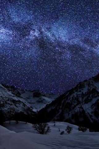 Красивые и прикольные картинки на телефон ночное небо - сборка 15