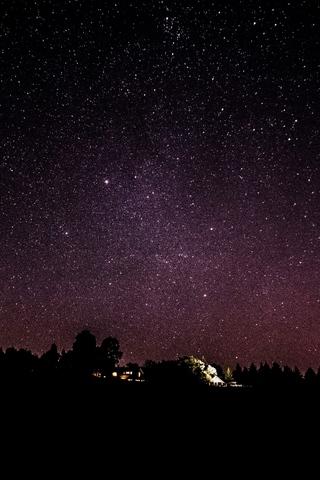 Красивые и прикольные картинки на телефон ночное небо - сборка 16