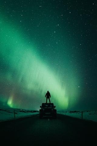 Красивые и прикольные картинки на телефон ночное небо - сборка 3