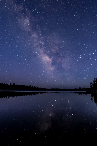 Красивые и прикольные картинки на телефон ночное небо - сборка 4