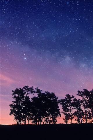 Красивые и прикольные картинки на телефон ночное небо - сборка 5
