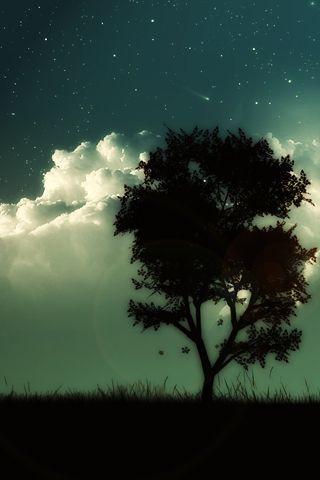 Красивые и прикольные картинки на телефон ночное небо - сборка 8