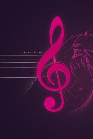 Красивые и прикольные картинки, обои на телефон Музыка - подборка 20