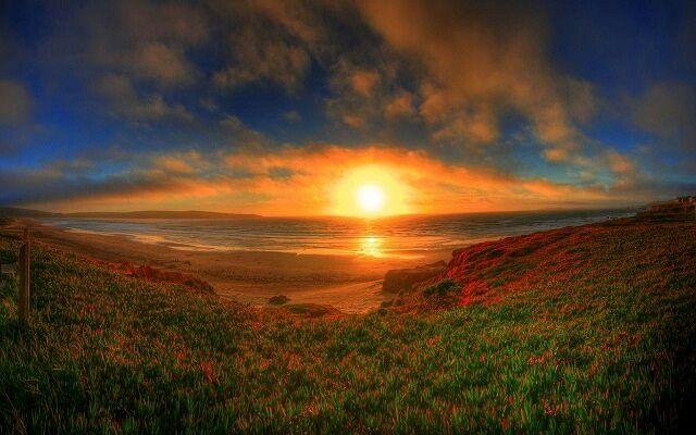 Красивые и удивительные картинки, фото Восход Солнца - подборка 11